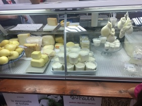 The mozzarella shop! They only sell mozzarella buffula.