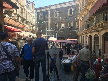 The markets of Catania!