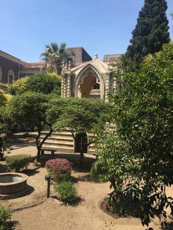 The garden of the university!