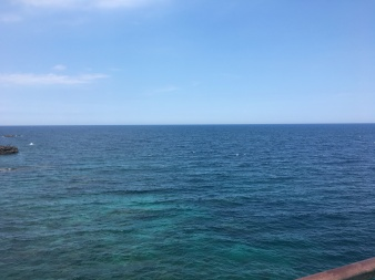 The sea at Catania!