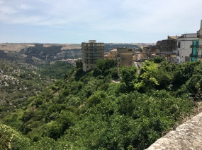 A view from Ragusa Ibla.