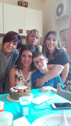 Elena's sister, sister-in-law, and nephew :)