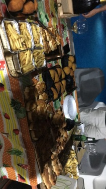 The food from the birthday party!