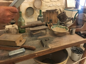 Ancient chocolate making tools!