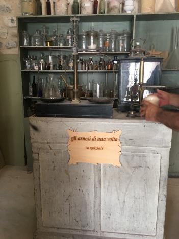 Ancient pharmacy tools!
