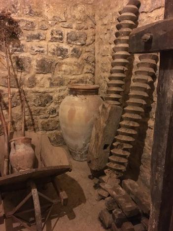 Ancient honey preservation tools.