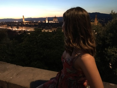 Enjoying the views of Firenze