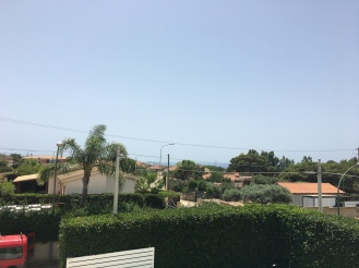 A view from one of Elena's villas!