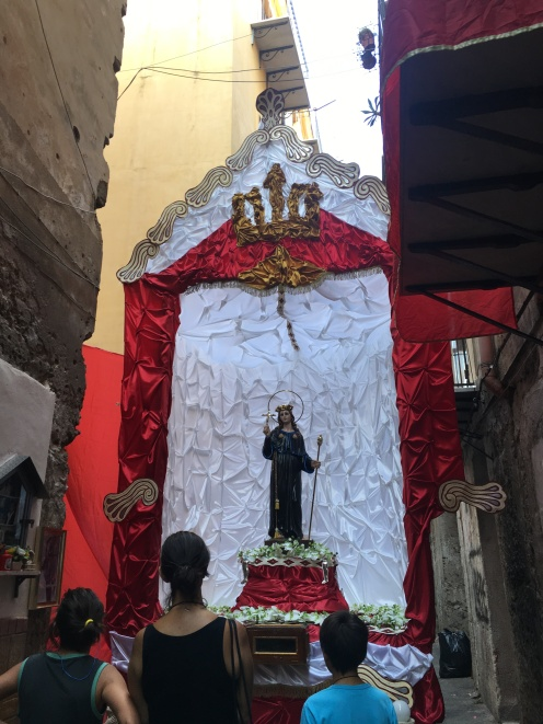 The statue of San Rosalia