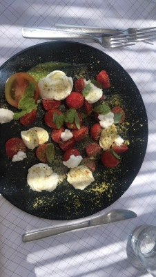 My amazing caprese salad yesterday!