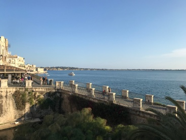 The coast of Ortigia