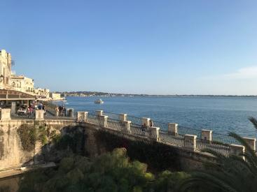 The coast of Ortigia