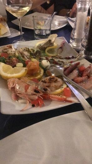 Antipasti from Friday's dinner